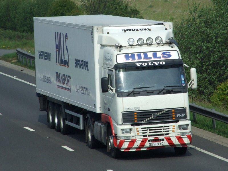 refrigerated transport shropshire